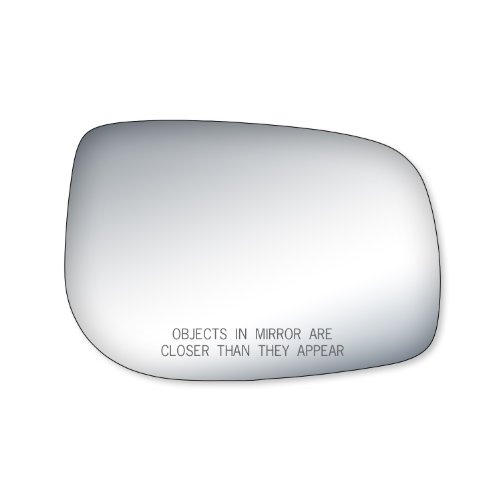 Fit System 90202 Toyota Yaris Passenger Side Replacement Mirror Glass (Toyota Yaris 2007 Mirror compare prices)