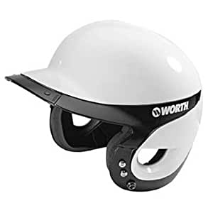 Liberty BatterÕs Helmet (White with Trim Color) from Worth