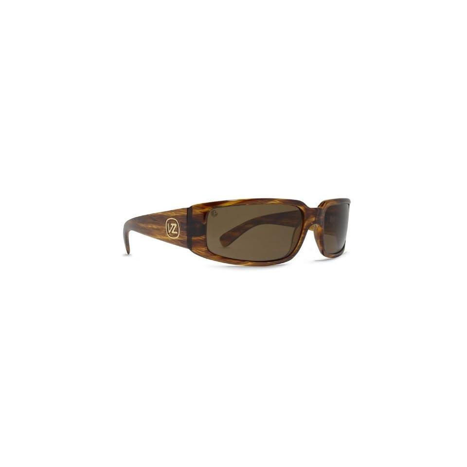 db78e24567 Von Zipper Sham Sunglasses Polarized Tortoise  Bronze Poly Polar ...