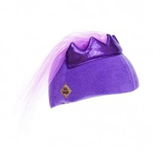 Princess Helmet Cover (Purple) - One Size Fits All Kids Sports Helmets - For Bike,... by Tail Wags Helmet Covers