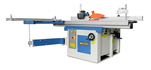 Baileigh-MF-3005-5-In-1-Multifunction-Machine-12-PlanerJointer-10-Table-Saw-38-Slotter-and-Shaper-220V-1-Phase
