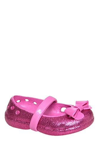 Girls Keeley Hi Glitter Mary Jane Flat