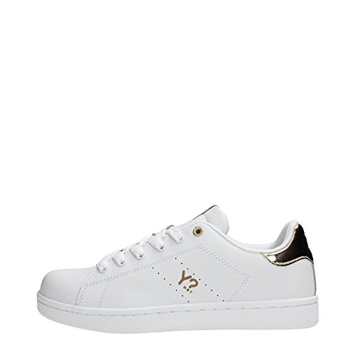 Y NOT - Scarpe donna Sneakers basse - Basic Platinum Bianco (39)