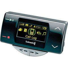 Bluetooth« FlashÖ Car Kit With OLED Display And Audio Playback per