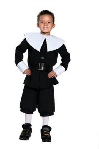 Pilgrim Boy Md Kids Boys Costume