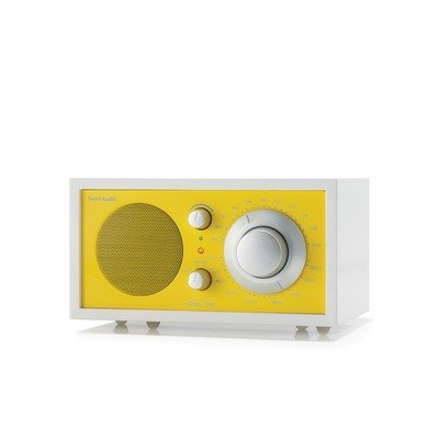 Tivoli Audio Model One AM/FM Table Radio - Frost White/Sunflower Yellow