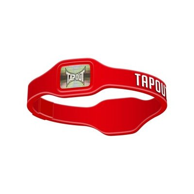 Tapout Performance Band - Red - Medium (2 Bracelets)