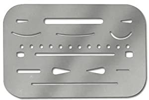Alvin Stainless Steel Erasing Shield (3298)