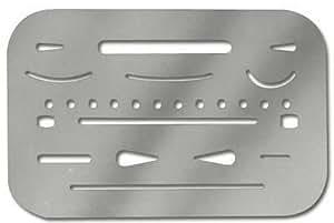Alvin Stainless Steel Erasing Shield (3298)