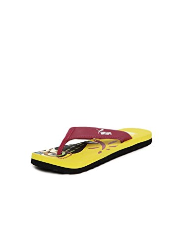 Puma Puma Unisex Owl Jr. Ind. Flip-Flops And House Slippers (Multicolor)