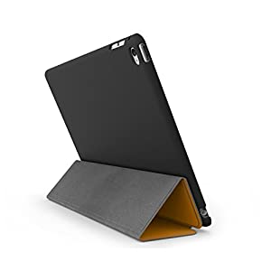 iPad Air 2 Case (iPad 6) - KHOMO DUAL Super Slim Orange Cover with Black Rubberized back and Smart Feature (Built-in magnet for sleep / wake feature) For Apple iPad Air 2 Tablet from iPad Air 2 Case