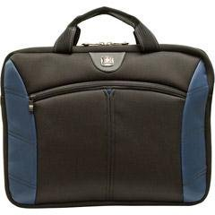 "SwissGear SHERPA - Notebook sleeve - 15.4"" - black, blue"