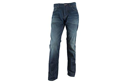 NAPAPIJRI uomo jeans N0YEVOD64 LUND DARK USED 40-34 Blu jeans