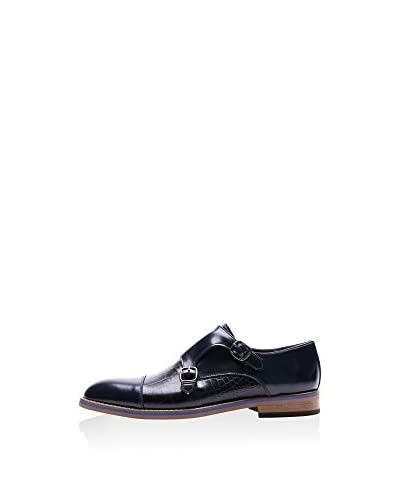 REPRISE Zapatos Monkstrap Negro