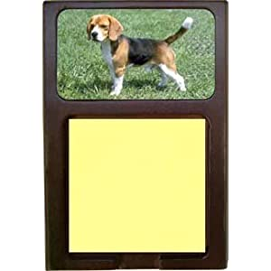 Beagle Sticky Note Holder
