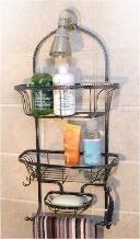 Vanderbilt Home 2 Tier Shower Caddy w/ Soap Dish Oil Rubbed Bronze (Shower Head Caddy Bronze compare prices)