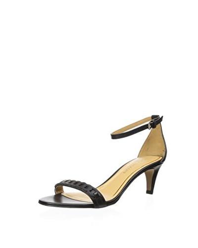 Enzo Angiolini Women's Macaela Sandal  [Black/Black]