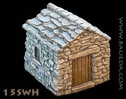 Urbis Architectural (15mm Ancient): Small Stone WareHouse