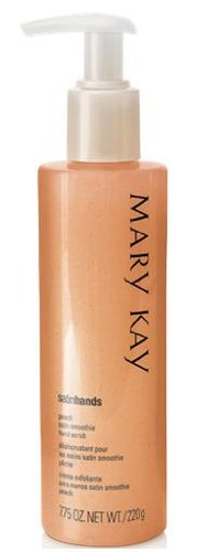 Mary Kay Satin Hands Peach Hand Scrub SUPER SIZE