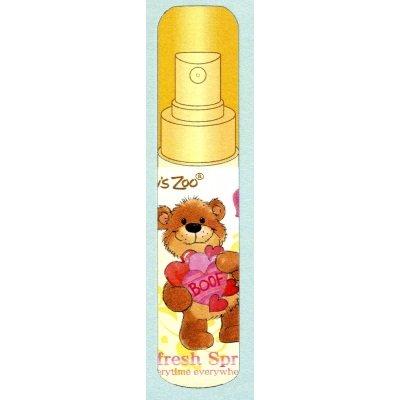 サンタン 消臭スプレッシュ スージーズー 携帯用 ナチュラルフローラルの香り 30ml