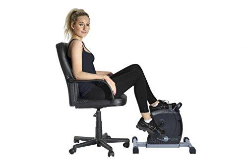 Le mini machine GymMate magnetique remise en forme de vélo de prime de qualité d'exercice pour la maison ou au bureau - couleur lilas.
