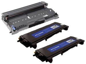 3 Packs:Brand New Compatible Brother TN350(2pcs) Toner Cartridges + DR350(1pcs) Compatible Drum Unit (Drum Unit 350 compare prices)