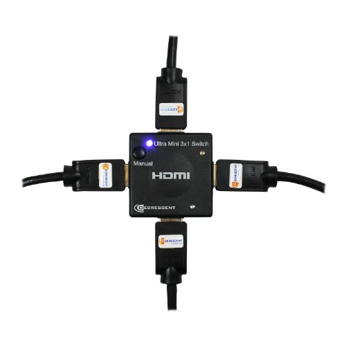 Decrescent hdmi mini auto switch su 3 porte 3 ingressi x for Porte and a 3 ingressi