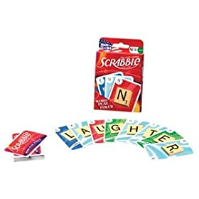 Scrabble cards: Word Play Poker game