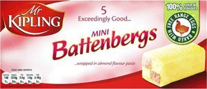 Mr Kipling Cakes Mini Battenbergs- 5 pack