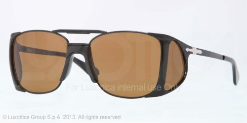 Persol Po2435S Sunglasses-105633 Blak (Brown Lens)-55Mm