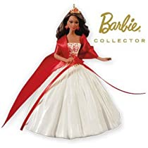 Celebration Barbie (African American) 2010 Hallmark Ornament