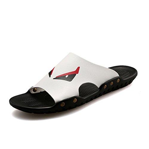 Tendances pour hommes pantoufles d'été/Perméable à l'air casual chaussures/Pantoufles de caractère petits diable/flops/marée chaussons/sandales Homme