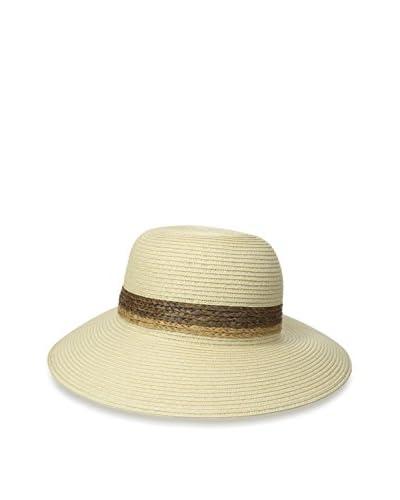 Giovannio Women's Swinger Hat, Natural/Brown