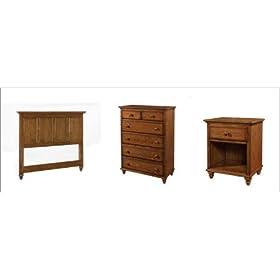 Home Styles 5271-5012 Canopy Oaks Headboard Bedroom Set