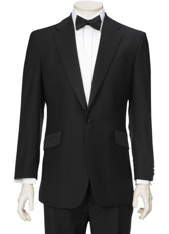 Austin Reed Black Notch Dress Jacket REGULAR MENS 38