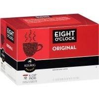 Eight O'Clock Original K-Cups (Case of 6)