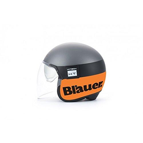 Casque blauer pod titane/ orange mat m - Blauer BLCJ117M