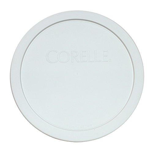 Corelle White 1.0 Quart - .95 Liters Plastic Cover 323-PC