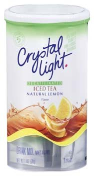 Crystal Light Decaffeinated Natural Lemon Iced Tea 1 Oz