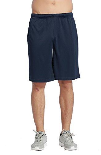 CYZ Men's Performance Jersey Short-Navy-M (Light Blue Basketball Jersey compare prices)