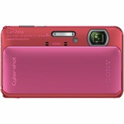 Sony Cyber-shot DSC-TX20 16.2 MP Exmor R CMOS Digital Camera with 4x Optical Zoom and 3.0-inch LCD  (Pink) (2012 Model)