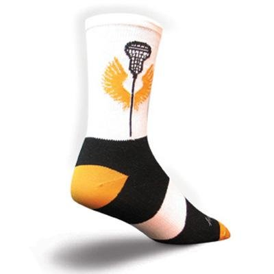 Buy Low Price SockGuy Crew 6in Gladiator Lacrosse Socks (B004CJI0H0)