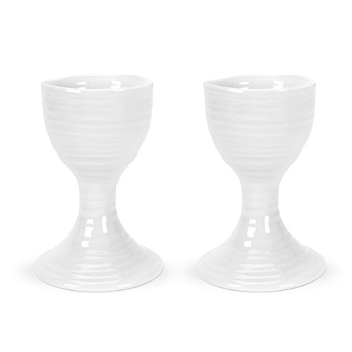 Portmeirion Sophie Conran White Egg Cup,Set of 2