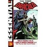 Essential Tomb Of Dracula Volume 3 TPB