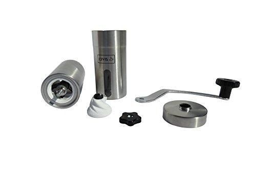 Adjustable Manual Stainless Steel Ceramic Burr Coffee Grinder