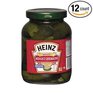 Amazon.com: Heinz Sweet Midget Gherkins Pickle: Industrial