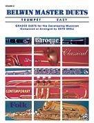 Belwin Master Duets Easy, Volume 2 - Trumpet