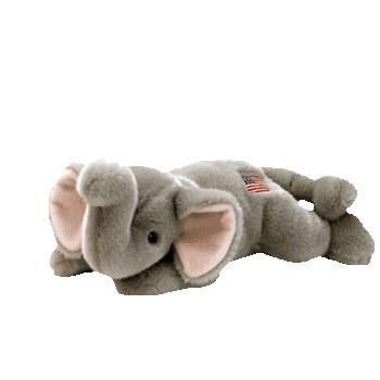 Ty Beanie Buddies Righty - Elephant - 1