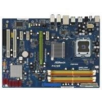 ASRock P43DE Motherboard 1600Mhz DDR2 (4 Dimms) 1 PCI-E (x16) 6 SATA