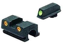 Meprolight Sig Sauer Tru-Dot Night Sight fits 9mm & 357. Orange rear/Green front
